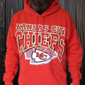 🔥VTG '93 Kansas City Chiefs NFL Hoodie🔥